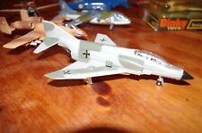 DINKY ENGLAND 725 AVION PHANTOM II F-4K LUFTWAFFE COMME NEUF, tout fonctionne