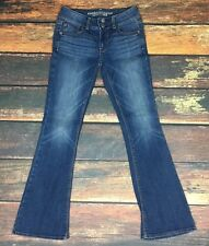 American Eagle Outfitters Blue Jeans 0 Short Artist Super Stretch Boot Cut