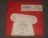 Mendelssohn: Incidental Music To A Midsummer Night's Dream~Artur Rodzinski