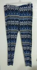 Bobbie Brooks Woman's Print Leggings - Plus Size: 1X