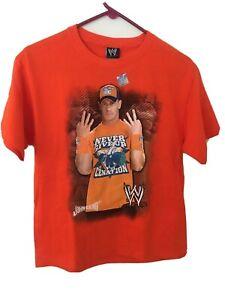 John Cena WWE Shirt NWT Never Five Up Wrestling Tee 14-16