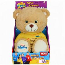 The Wiggles- MUSICAL ROCK-A-BYE BEAR- Singing Plush Toy- NEW IN BOX