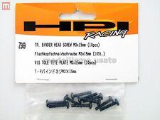 HPI Z569 Vis M3x15 mm (10) Tp. Binder Head Screw modélisme