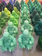 Handmade Buddha Scented Candle Laughing Buddha (Available In Many Colours)