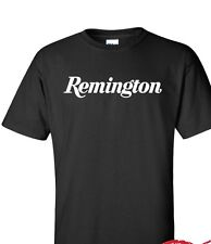 Remington T-Shirt  Gun Graphics Tee Brand Shirt 2nd amendment white logo