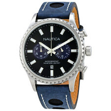 Nautica Chronograph Black Dial Mens Watch NAI18512G