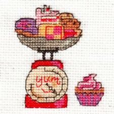 DMC Bk9991b Happiness Is .. All Things Yummy Mini Cross Stitch Kit