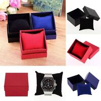 New Paper Cardboard Case Bangle Bracelet Wrist Watch Jewelry Present Gift Box