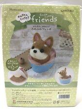 Needle Felting Kit Dog Japan Wool Felt Craft Shiba Inu Friend Series Hamanaka