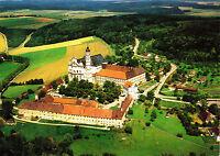 Abteikirche Neresheim , AK 1989 gelaufen