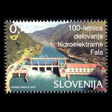 Slovenia 2018 - 100th Anniv. of the Fala Hydropower Plant Architecture - MNH