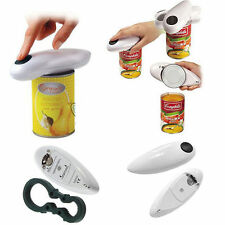 Electric Easy Touch Can Open Cordless Battery Operated Tin Bottle Opener Top USA