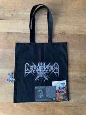 GRAVELAND tote bag patch flyers RARE satanic warmaster veles varg goatmoon taake