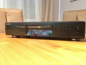 Sony CDP-XE370 CD CD-Player mit Fernbedienung und Bedienungsanleitung