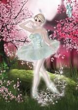 Blossom Ballerina Birthday for women and girls sweet & fresh pink/white/green