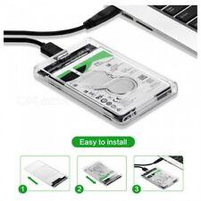 Portable USB3.0 Hard Disk Box HDD Enclosure Case 2.5 Inches SATA Solid SSD Case