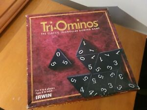 TRI-Ominos Board Game - 1997 Vintage Family Game - Collectable