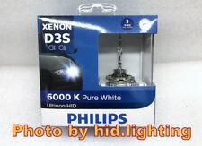Genuine Philips 6000K Ultinon Flash White D3S XenStart HID XENON Bulb lamp 35W