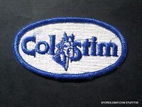 COLSTIM  HORSE EMBROIDERED SEW ON PATCH ADVERTISING BADGE COLLECTIBLE 3 1/2 x 2