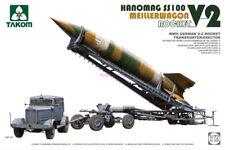 Takom 5001 1/72 German V-2 Rocket Meiller Wagen Hanomag SS100