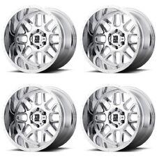 "Set 4 22"" XD Series XD820 Grenade Chrome Wheels 22x10 8x170 -24mm Lifted Ford"