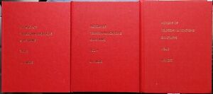 HISTORY OF TELECOMMUNICATIONS ON STAMPS Volumes 3, 4, 5 Hardback