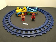 PLAYMOBIL 123 - Circuit Train avec Rails - réf 6760 // 1 2 3 // Complet TBE