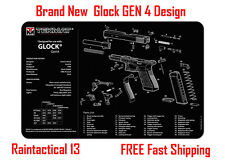 For Glock 19 GEN 4 Tek Mat Armorers Bench Cleaning Mat NEW ! FREE SHIPPING