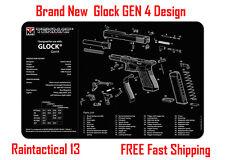 For Glock 23 GEN 4 Tek Mat Armorers Bench Cleaning Mat NEW ! FREE SHIPPING