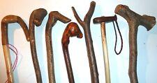 "handmade original hazel cane walking stick custom strong; using standard 38-40"""