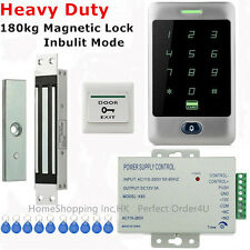 Waterproof RFID Card+Password Door Access Control System with180kg Magnetic Lock