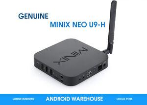 MINIX NEO U9-H 64-bit Octa-Core Media Hub Android Smart TV Box GENUINE Aussie