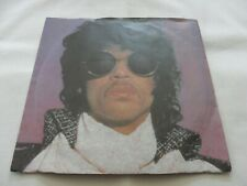 Prince - When Doves Cry / 17 Days 1984 Uk Warner/Bros P/ Sleeve 45