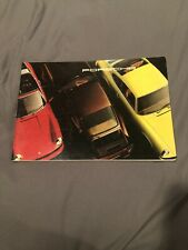 1976 Porsche Deluxe Brochure 912E 911S Turbo Carrera