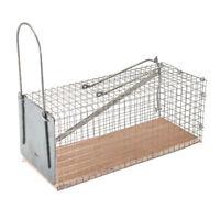 Metal Mouse Trap Humane Live Catcher Rat Vermin Rodent Cage Traps Pest Hamster