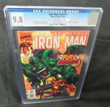 Iron Man #V3 #17 (1999) Fin Fang Foom Appearance CGC 9.8 V629