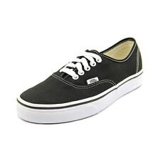 VANS Authentic Men US 6 Black SNEAKERS 2950