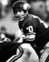 Minnesota Vikings FRAN TARKENTON Glossy 8x10 Photo NFL Football Print Poster