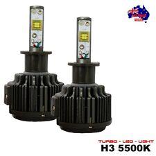 NEW TURBO LED Headlight Kit – H3 5500K White Bulb Conversion 30W