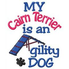 My Cairn Terrier is An Agility Dog Fleece Jacket - Dc1944L Size S - Xxl