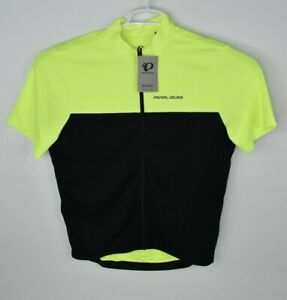 NEW Pearl Izumi Men's Quest Jersey Screaming Yellow Size Medium Relaxed Fit