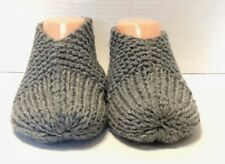 357faa6ea4f MENS Hand Knitted Slippers SMOKEY 1 size fits most 7
