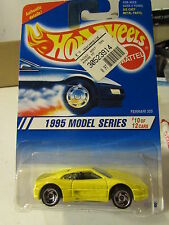 Hot Wheels Ferrari 355 1995 Model series Yellow