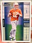 Tom Brady 2000 Upper Deck Victory Rookie Card RC #326 Patriots Bucs GOAT. rookie card picture