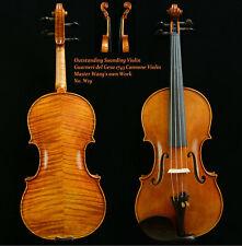 Guarneri del Gesu 1743 Cannone Violin Master Wang's own Work No.W 19