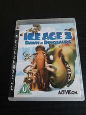 ICE Age 3 Amanecer de los dinosaurios Playstation PS3 VIDEOJUEGO PAL Manual
