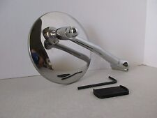 """4"""" LONG ARM  PEEP MIRROR EXTERIOR CLASSIC CHEVY FORD HOT ROD RAT ROD TRUCK#A4008"""