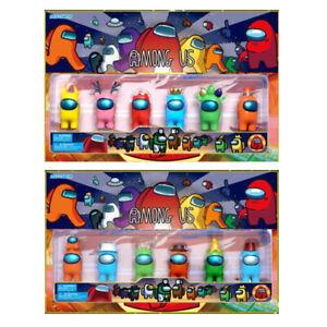 Among Us 2020 6PCS/Set Action Figures Toys Game Figure Kit Kids Christmas Gifts