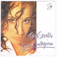 """Taja Sevelle - Love Is Contagious / Mama 16 / 7"""" Single von 1987"""