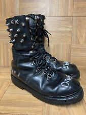 VNTG🔥 Heereseigentum Steinkogler Grunge Combat Boots 12 Dragon Slayer Destroy U